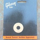 NEW Gibson Switch washer plate   CREME / Gold Les paul