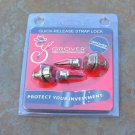 NEW Grover Quick release Strap  Locks Nickel