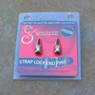 NEW Grover Quick release Strap  Lock PINS  Nickel
