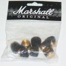 Marshall tone and  volume knobs 8 push on