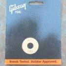 Gibson  Les paul Switch washer plate   Cream/ Gold