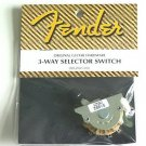 3-way selector switch  Genuine Fender for Tele  Telecaster