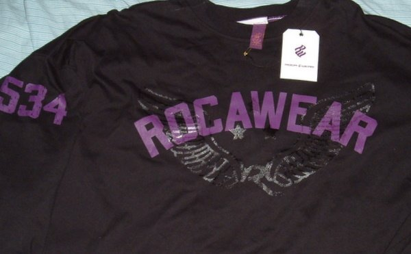 Rocawear Black Roc Big Tall Shirt 5x 5xl 5xlt