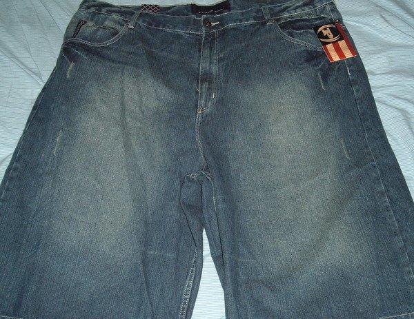 Phat Farm Blue Denim Big Tall Shorts Sz 46