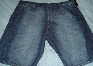 Karl Kani Blue Denim Jean Big Tall Shorts Sz 50
