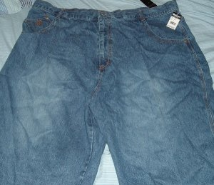 Makaveli Blue Denim Big Tall Shorts Sz 52