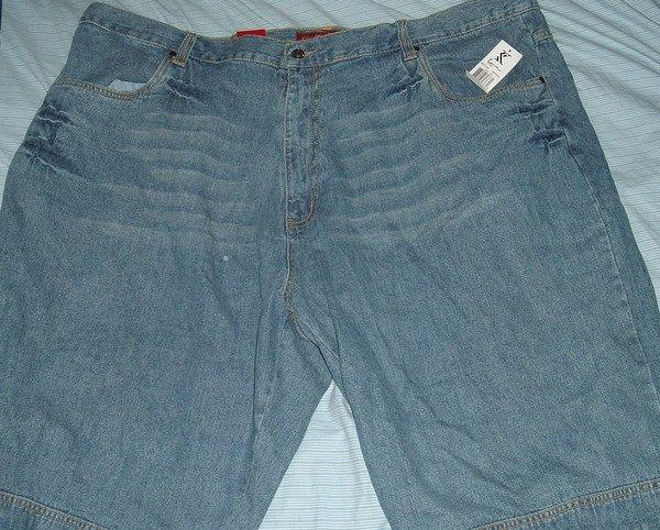 Karl Kani Blue Denim Big Tall Shorts Sz 50