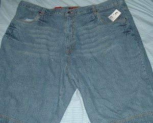 Karl Kani Blue Denim Big Tall Shorts Sz 50