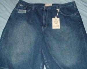 Brooklyn Xpress Blue Denim Big Tall Shorts 46