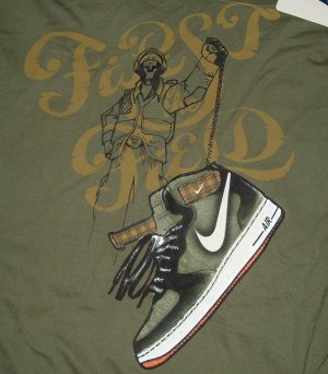 Nike Air Force 1 BRS Green Big Tall T Shirt 4x 4xl