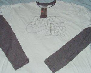 Nike Air White Grey Logo Big Tall T Shirt 4x 4xl
