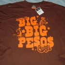 Akademiks Brown Logo Big Tall Shirt 4x 4xl 4xlt
