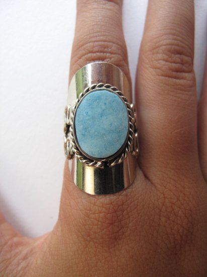 Light Turquoise Stone Ring