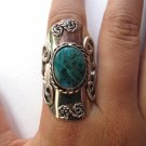 Teal Stone Ring