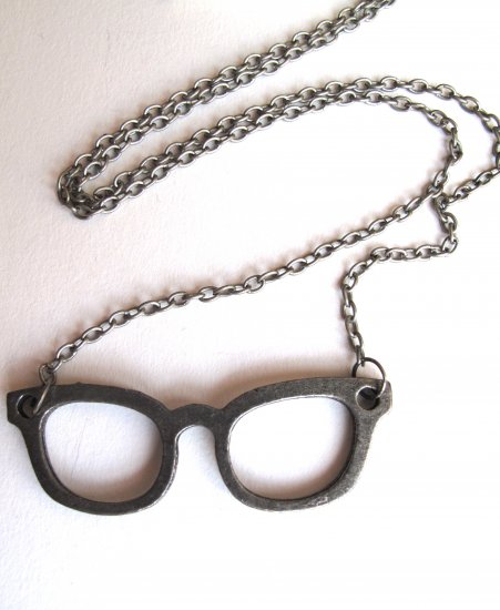 Nerd Glasses Necklace