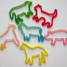 Farm Animal Glow in the Dark Silly Bandz (12)