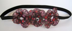 3 Flower Hippie Headband