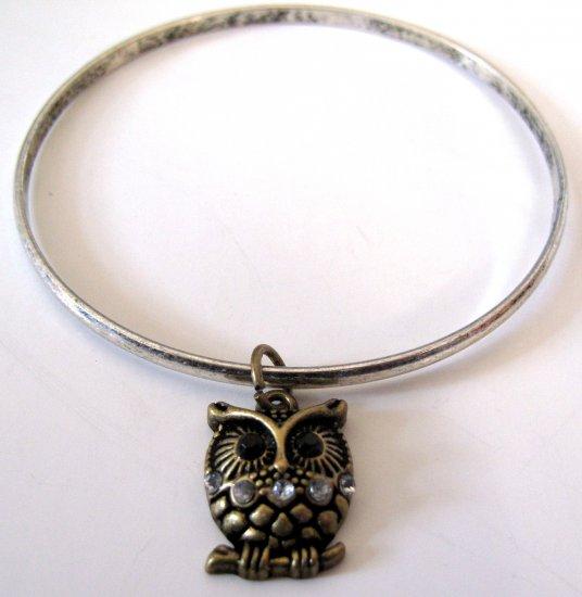 Owl Bracelet (Silver)