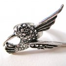 Hummingbird Adjustable Ring (Silver)