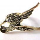 Hummingbird Adjustable Ring (Gold)