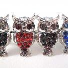 Hoot Hoot Owl Rhinestone Ring (Many Colors!)