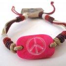 Peace Bracelet (Pink)