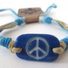 Peace Bracelet (Blue)