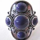 Four Stone Ring (Purple)