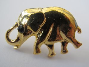 Elephant Ring (Gold)