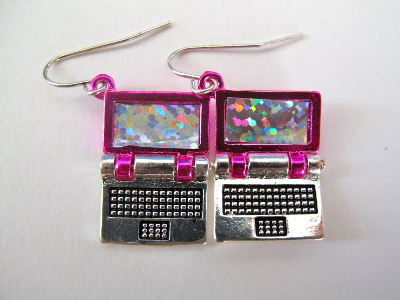 Laptop Earrings