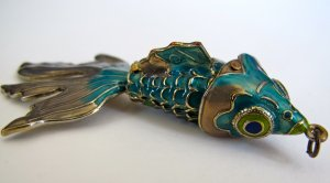 Fish Necklace Charm