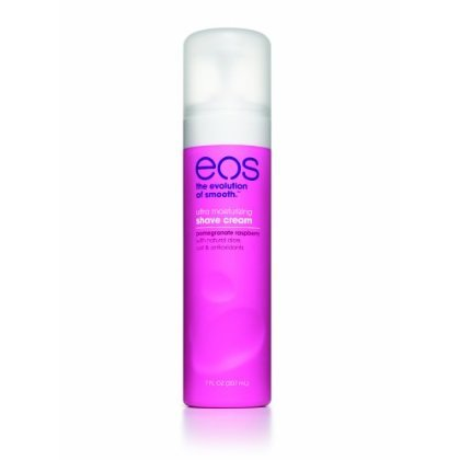 eos (the evolution of smooth) ultra moisturizing shave cream, 7oz - pomegranate raspberry