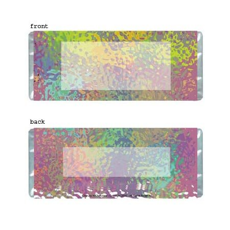 Retro Personalized Candy Bar Wrapper Only AP007