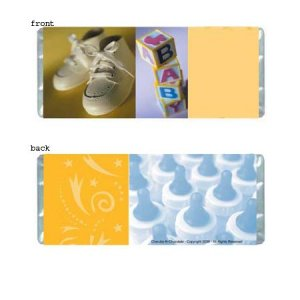 Baby 2 Personalized Candy Bar Wrappers Only BS04