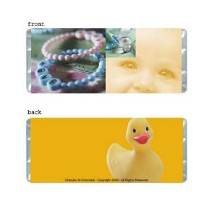 Baby 1 Personalized Candy Bar Wrapper Only BA005