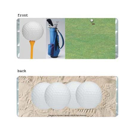 Golf Personalized Candy Bar Wrapper Only B008