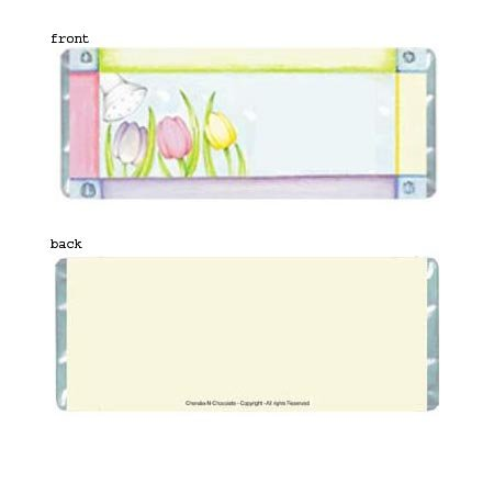 Shower Flower Personalized Candy Bar Wrapper Only BS05