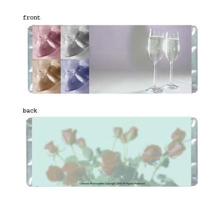 Bells Personalized Candy Bar Wrapper Only SE018