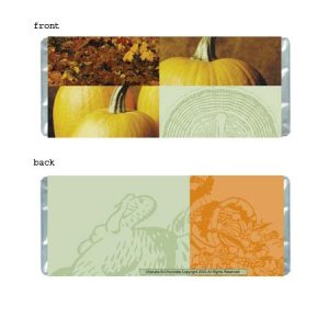 Fall Festivities Personalized Candy Bar Wrapper HD009-C