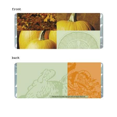 Fall Festivities Personalized Candy Bar Wrapper Only HD009