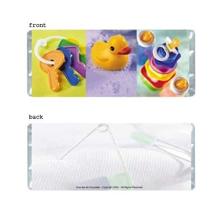 Baby Colors Personalized Candy Bar Wrapper Only BA010