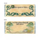 Once Upon A Time Personalized Candy Bar Wrapper Only WD010