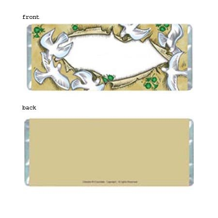 Doves Personalized Candy Bar Wrapper SE024-C