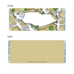 Doves Personalized Candy Bar Wrapper Only SE024