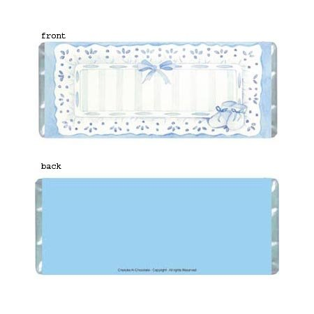 Sophisticated Boy Personalized Candy Bar Wrapper BA016-C
