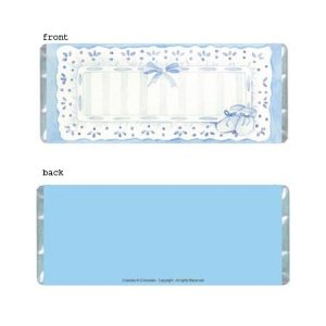 Sophisticated Boy Personalized Candy Bar Wrapper Only BA016