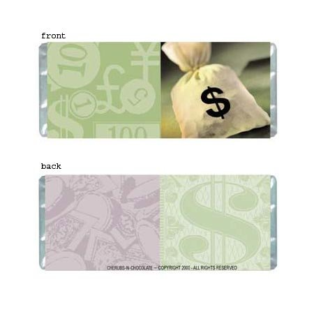 Money Personalized Candy Bar Wrapper AP024-C
