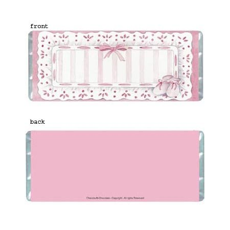 Sophisticated Girl Personalized Candy Bar Wrapper Only BA017