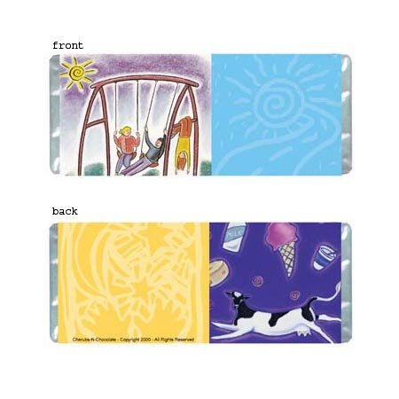 Just Have Fun Personalized Candy Bar Wrapper Only AP025