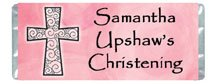 Religious Girl Personalized Candy Bar Wrapper Only SE028